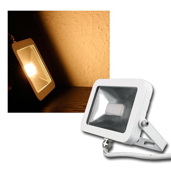 LED Fluter CTF-SL10W warm weiß 760lm, 10W, IP44
