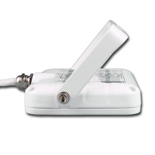 IP44 LED Flächenstrahler ideal als energiesparende Hofbeleuchtung oder Terrassenbeleuchtung