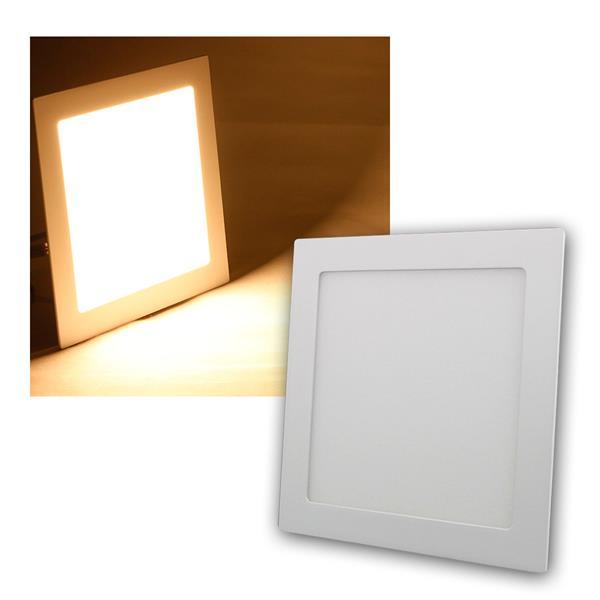 LED Panel WP18-EQ warm weiß 1520lm 22x22cm eckig