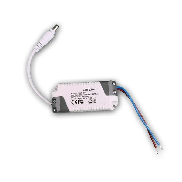 Ultraslim Panel mit benötigtem Trafo für Anschluss an 230V im Lieferumfang
