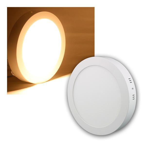LED Panel WP18-AR warm weiß 1520lm, Ø22cm, rund