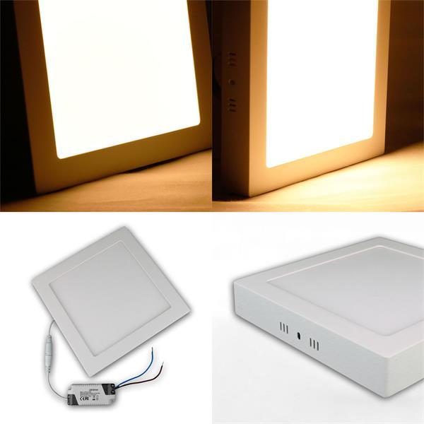 LED Panels zur Aufbau- oder Einbaumontage