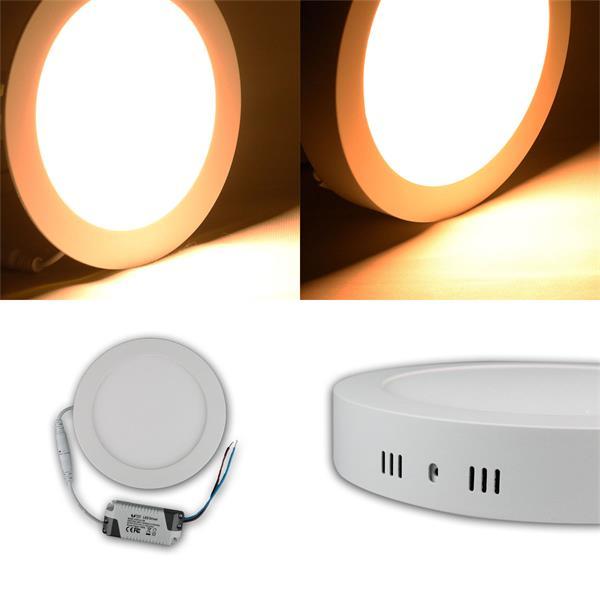 LED Panels mit 12 oder 18W warmweißen LEDs