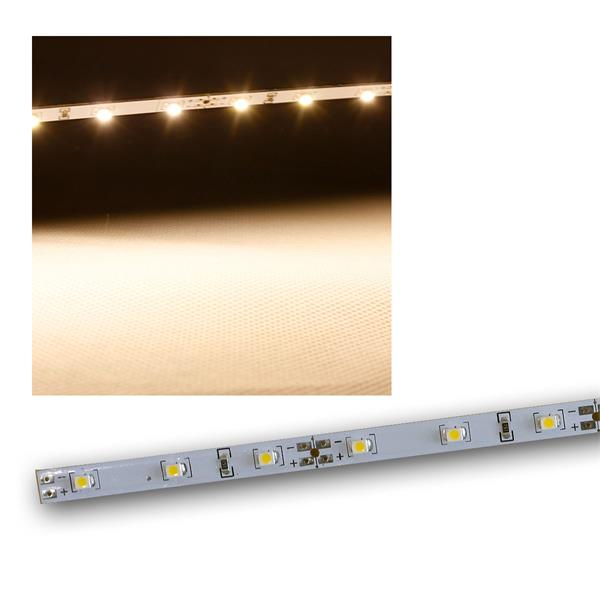 Leiterplatte mit 48 SMD LEDs warmweiß, 12V, 0,96m