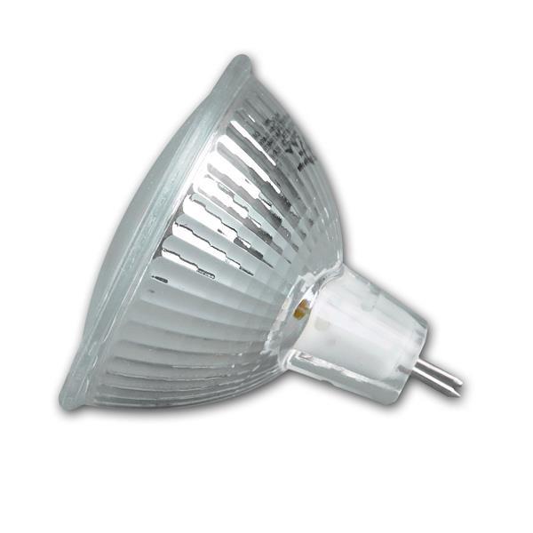 LED Leuchtmittel MR16 mit Abstrahlwinkel 120° und dem Maß 50x54mm