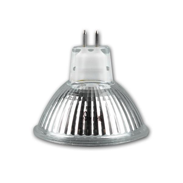 LED Spot MR16 mit Sockel GX5,3 und ca.5W Verbrauch
