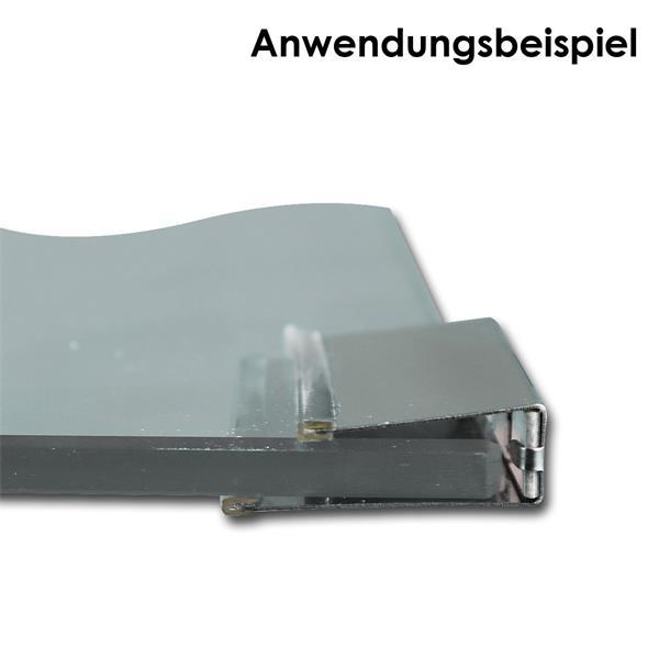 Glaskantenbeleuchtung für 12 V mit Mini-Steckanschluss