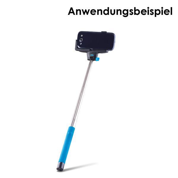 Bluetooth-Selfie Stick ausziehbar auf ca. 100cm