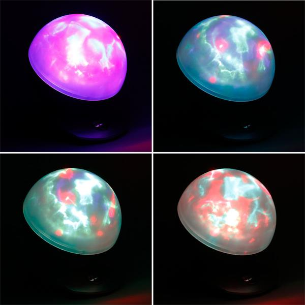 Snoozlelampe mit 9 LEDs für faszinierende Lichtspiele