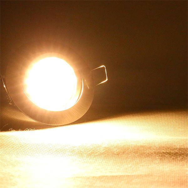230V Einbaustrahler superflach für energiesparende Lichtakzente