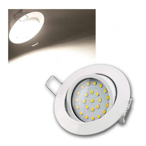 LED-Einbauleuchte Flat-26 daylight 350lm weiß 230V