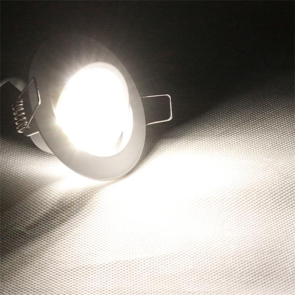 Einbaustrahler für energiesparende Lichtakzente