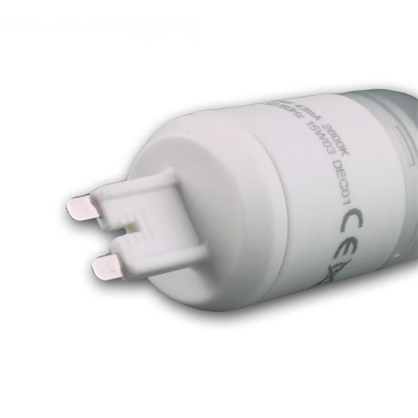 LED Energiesparleuchte 230V Sockel G9 mit nur ca. 4W Verbrauch