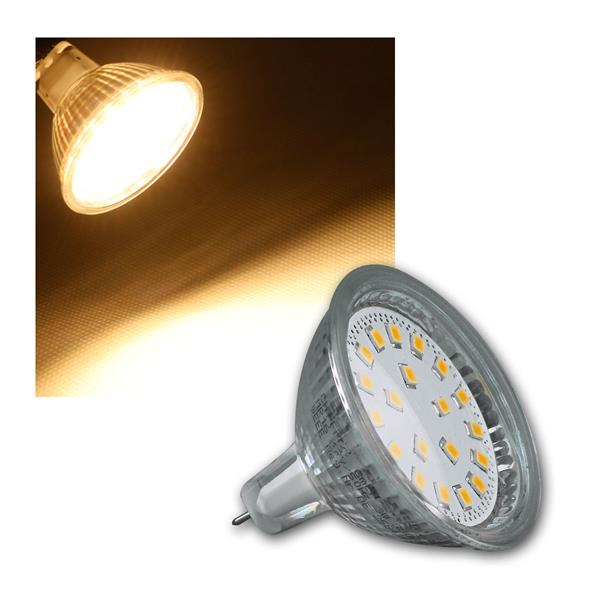 LED Strahler MR16 H40 SMD 120° 280lm warmweiß 3W