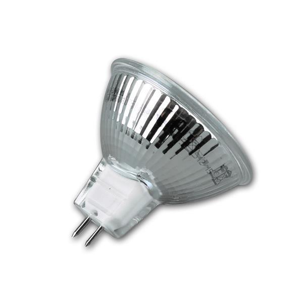 LED Leuchtmittel MR16 mit Abstrahlwinkel 120° und dem Maß 50x50mm