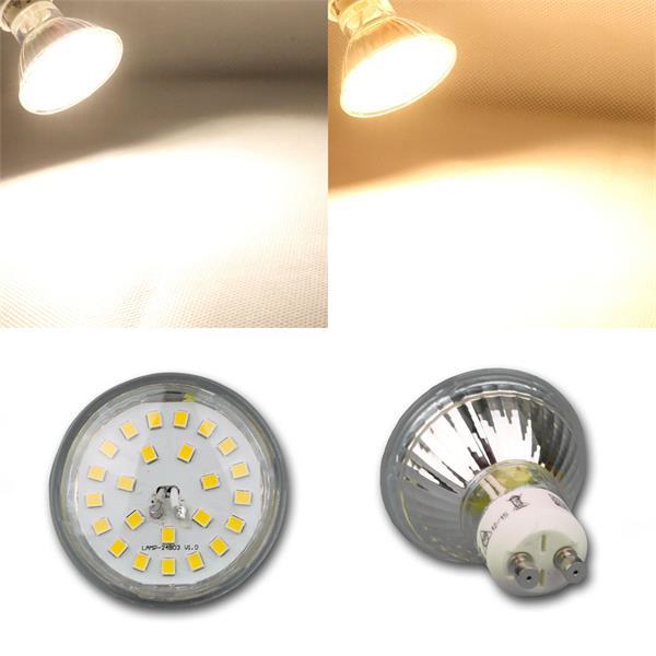 LED Strahler mit 230V oder 12V in warmweiß oder daylight