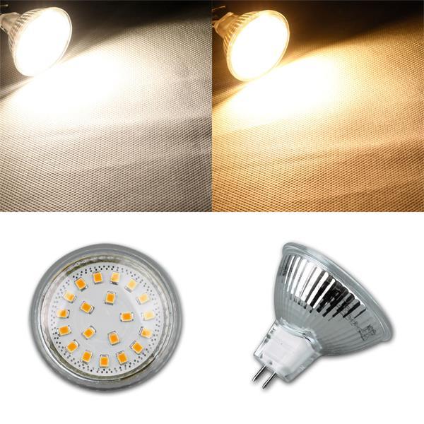 LED Strahler mit GU10 oder MR16 Sockel in warmweiß oder daylight