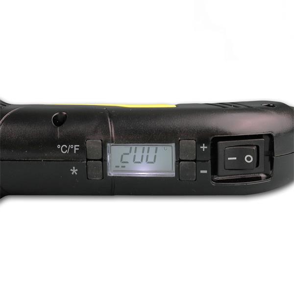 SMD Heißluftpistole mit regelbarer Temperatur von 200-500°C