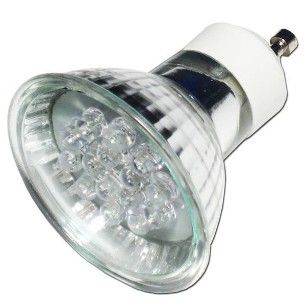 led strahler gu10 15 leds rgb farbwechsler 230v kaufen highlight led. Black Bedroom Furniture Sets. Home Design Ideas