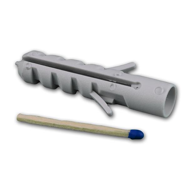 Dübel mit 2-fach Spreizung für für sämtliche Beton-/Mauerwerkstoffe