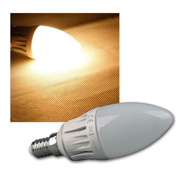 Kerzenlampe E14 warm weiß LED 480lm DIMMBAR 6W/230V