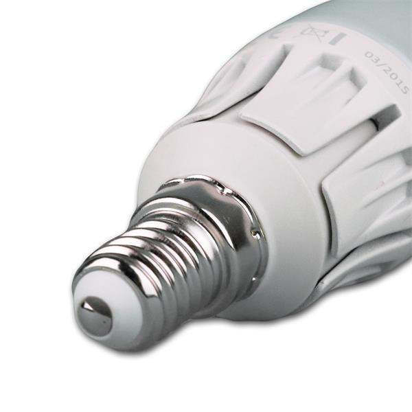 LED Glühbirne Sockel E14 für 230V mit nur ca. 6W Verbrauch