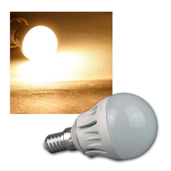 Tropfenlamp E14 warm weiß LED 480lm DIMMBAR 6W/230V