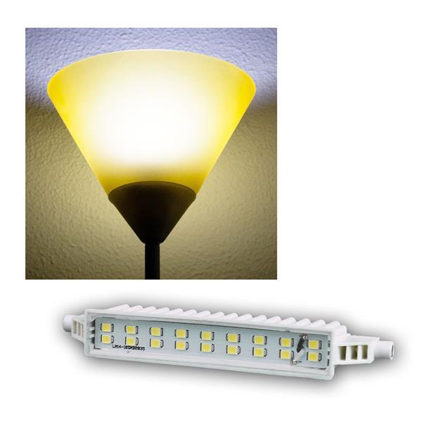 R7s LED-Leuchtstab 118mm kalt weiß 520lm 5,7W/230V