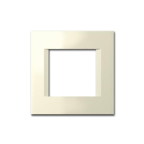 MODUL-PLUS 1-fach UP-Rahmen, Beige-Glanz, line