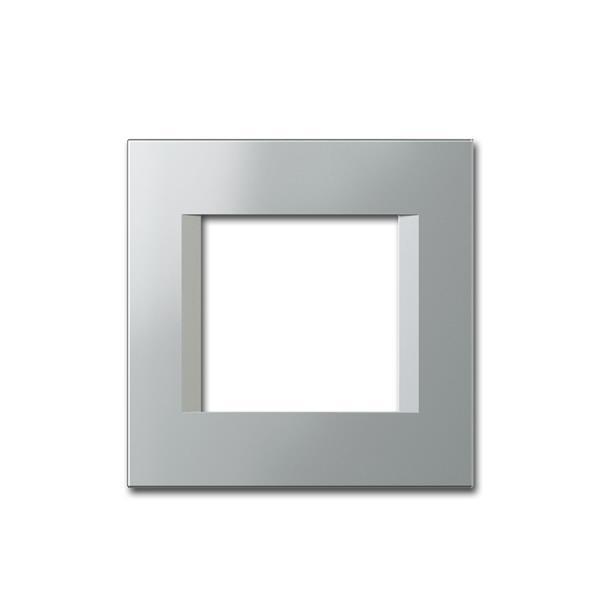 MODUL-PLUS 1-fach UP-Rahmen, Silber-Elox, line