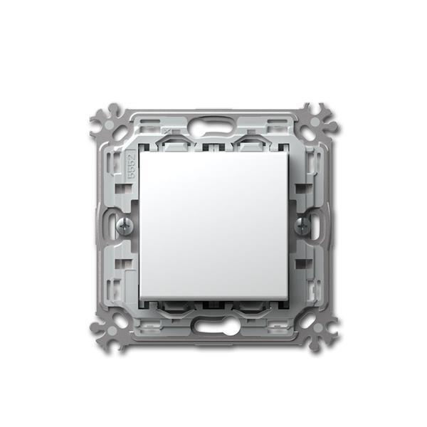 MODUL-PLUS Wechsel-Schalter, weiß, 250V~/16A, UP