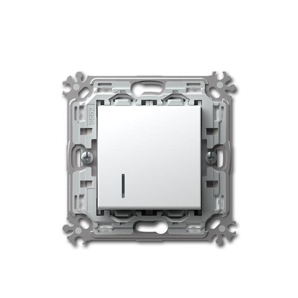 MODUL-PLUS Kontroll-Schalter Wechse weiß 250V~/16A
