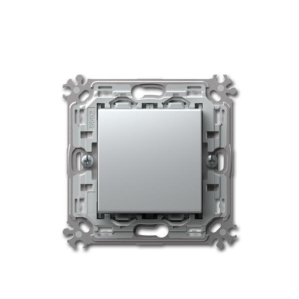 MODUL-PLUS Wechsel-Schalter, silber, 250V~/16A, UP