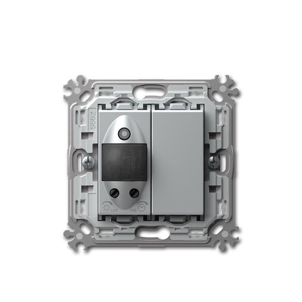 MODUL-PLUS Bewegungsmelder, silber, 250V~/5A, UP
