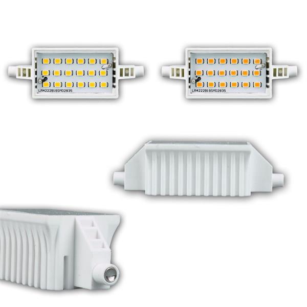 R7s LED-Leuchtstab in 78 oder 118mm Länge