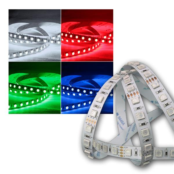 5m led lichtband 80smd m rgb 450lm m 12v 7 6w m. Black Bedroom Furniture Sets. Home Design Ideas