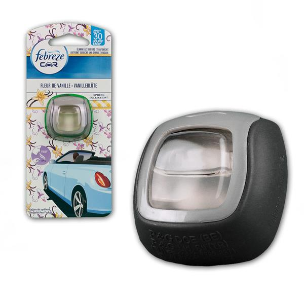 febreze car air freshener vanilla flower. Black Bedroom Furniture Sets. Home Design Ideas