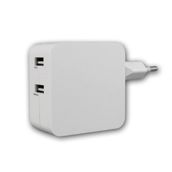 Stecker-Netzteil mit USB CTN-0540 Duo 4,2A 21W