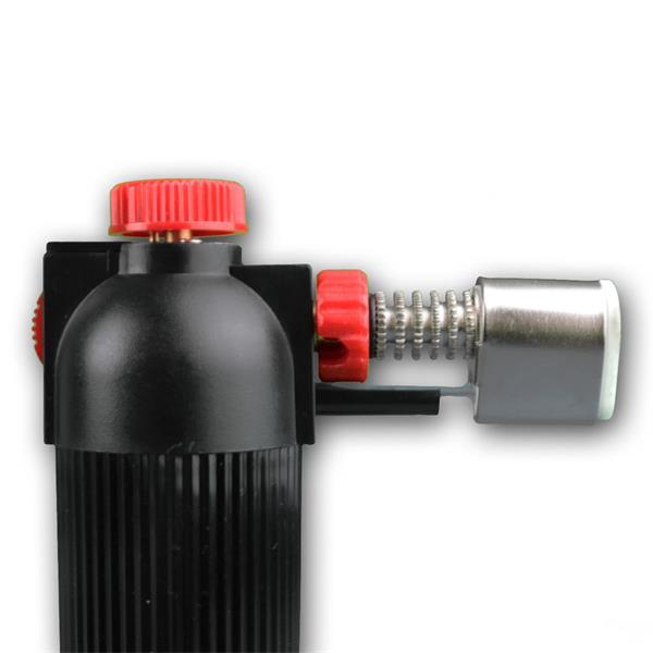 hochwertiger Profi-Gasbrenner auch als Flambierer in der Küche