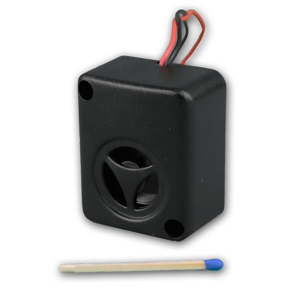 Schalldruck bei 12VDC beträgt 102 +/-5dB