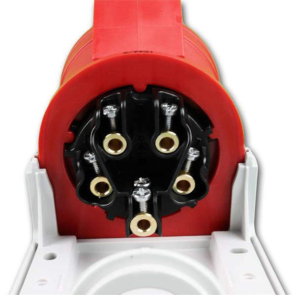 Kabel ist mittels Schraubanschlüssen leicht zu montieren