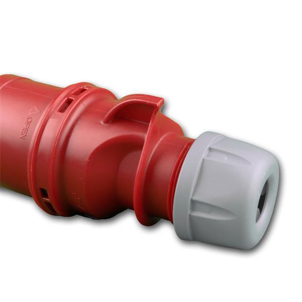 Starkstromstecker für Stromleitungen mit 230V oder 400V