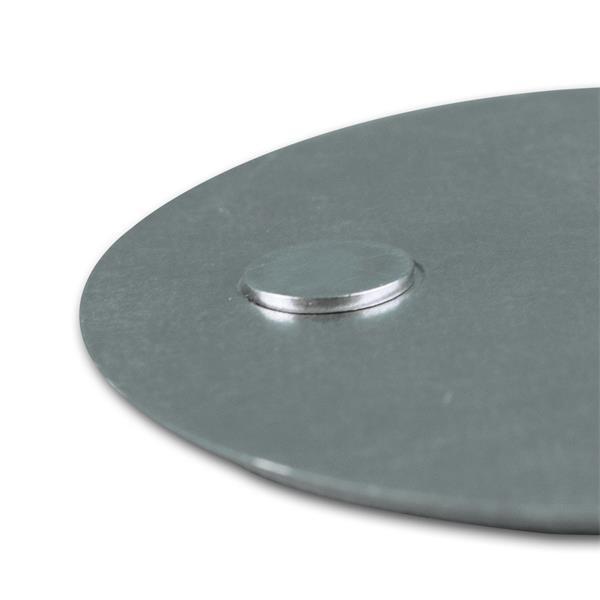 magnetische Befestigung besteht aus 2 Teilen