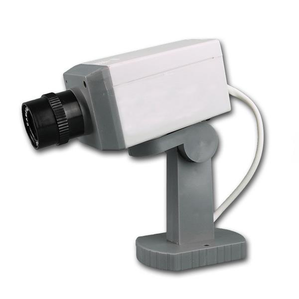 Kamera-Attrappe Dummy Pro, rote blinkende LED