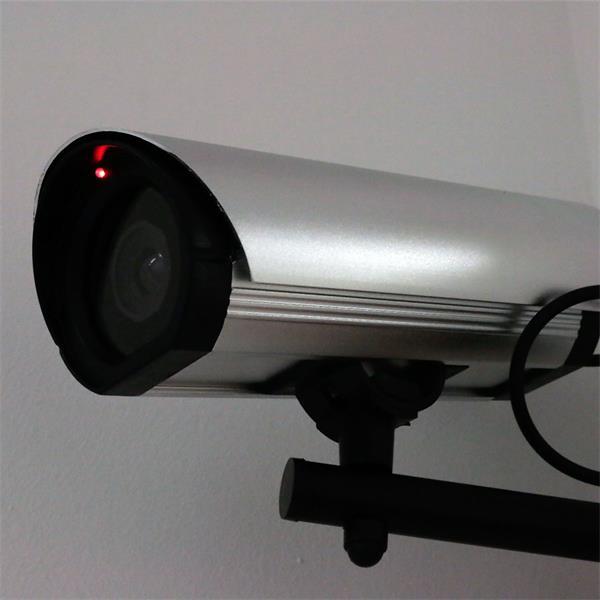 kaum von einer echten Überwachungskamera zu unterscheiden