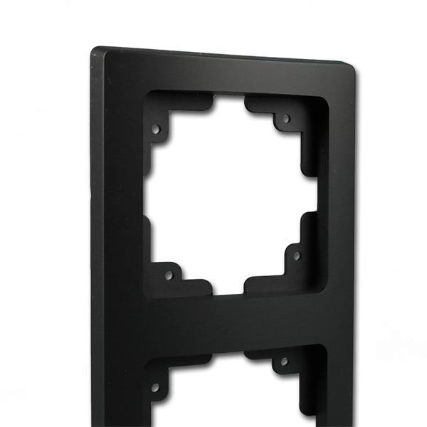 Schalterblende 2-fach leicht kombinierbar mit Produkten der DELPHI-Serie