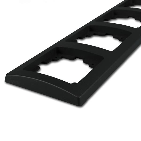 Steckdosenrahmen ist ein Bestandteil der Elektro-Installationsserie DELPHI