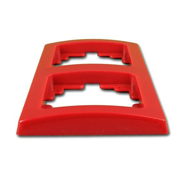 Abdeckrahmen ist ein Bestandteil der Elektro-Installationsserie DELPHI
