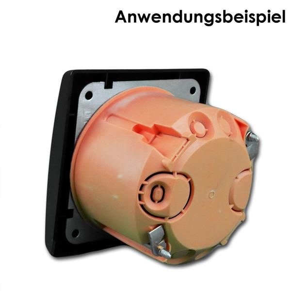 Schalterserie ist leicht erweiterbar und leicht zu installieren