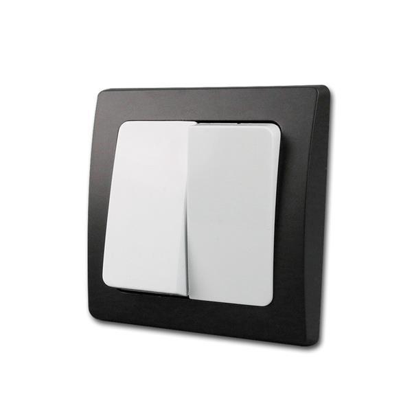 DELPHI Serien-Schalter schwarz/weiß 250V/10A